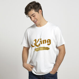 King Printed T-shirts for Mens Boys Online