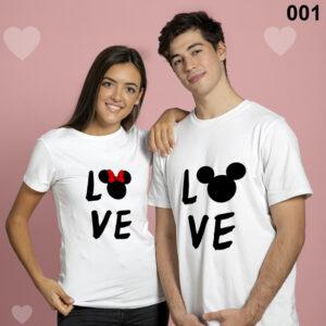 Love Matching Couple Set Tshirt