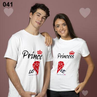 Personalized men women couple Tshirt