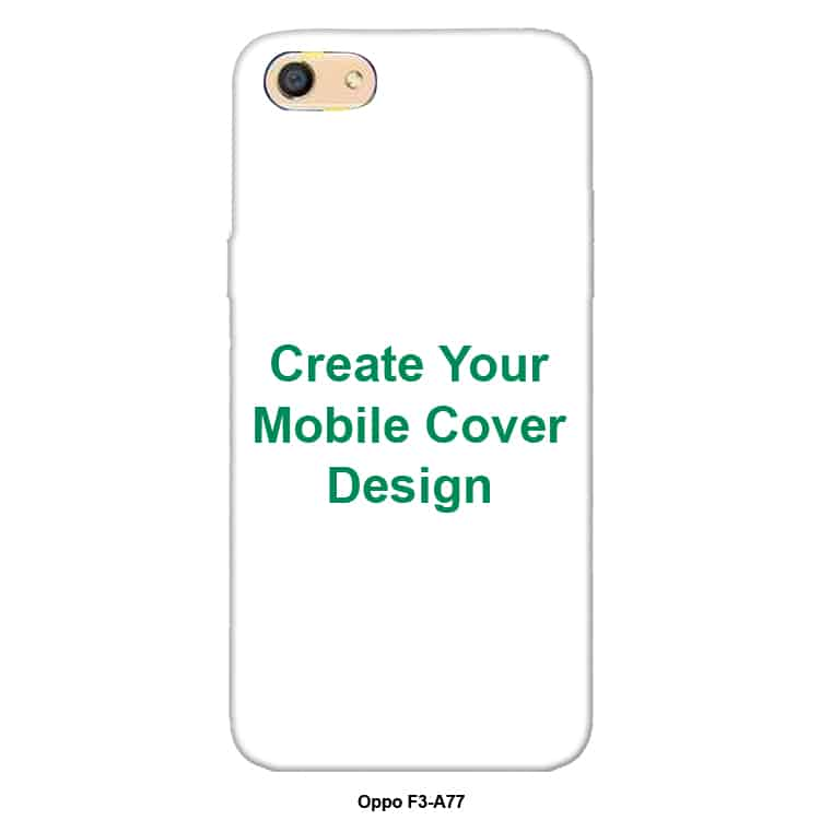 Buy Best Oppo F3-A77 Back Cover Online