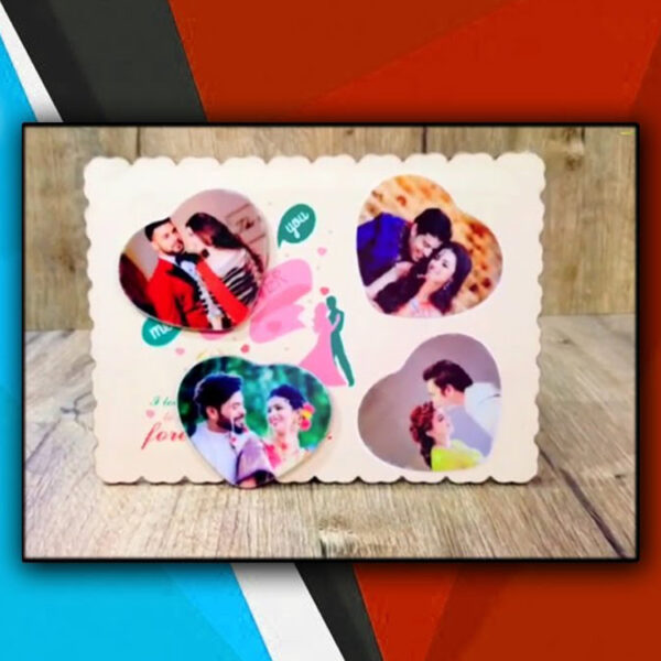 Buy Best Personalized Wooden Magnetic Photo Frame