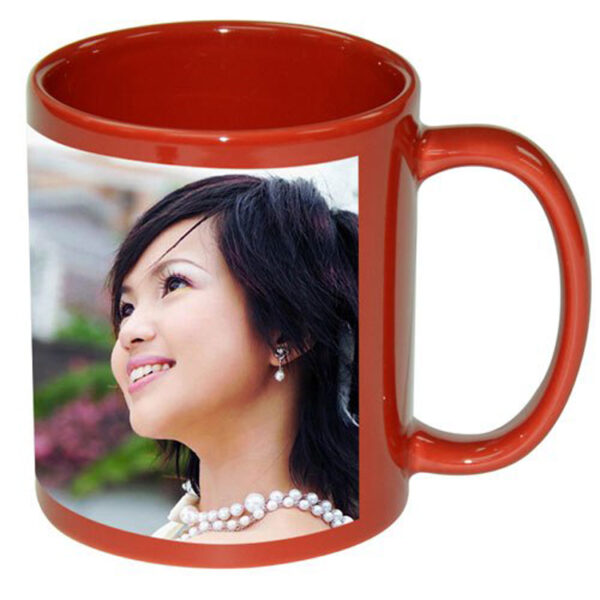Customized Printed Red Coffee Mugs Online in India