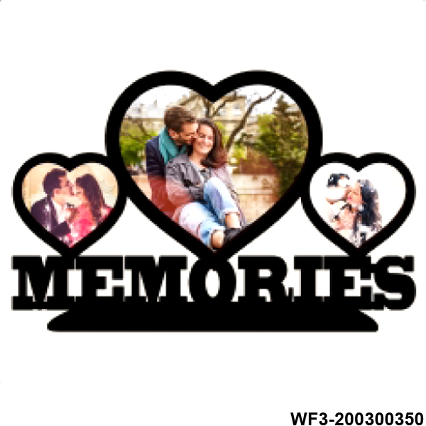 Personalized Wooden Memories Photo Frame